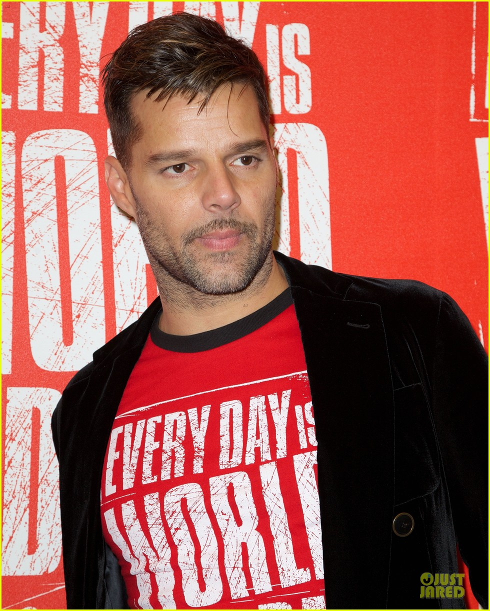 ricky martin world aids day event 162767027
