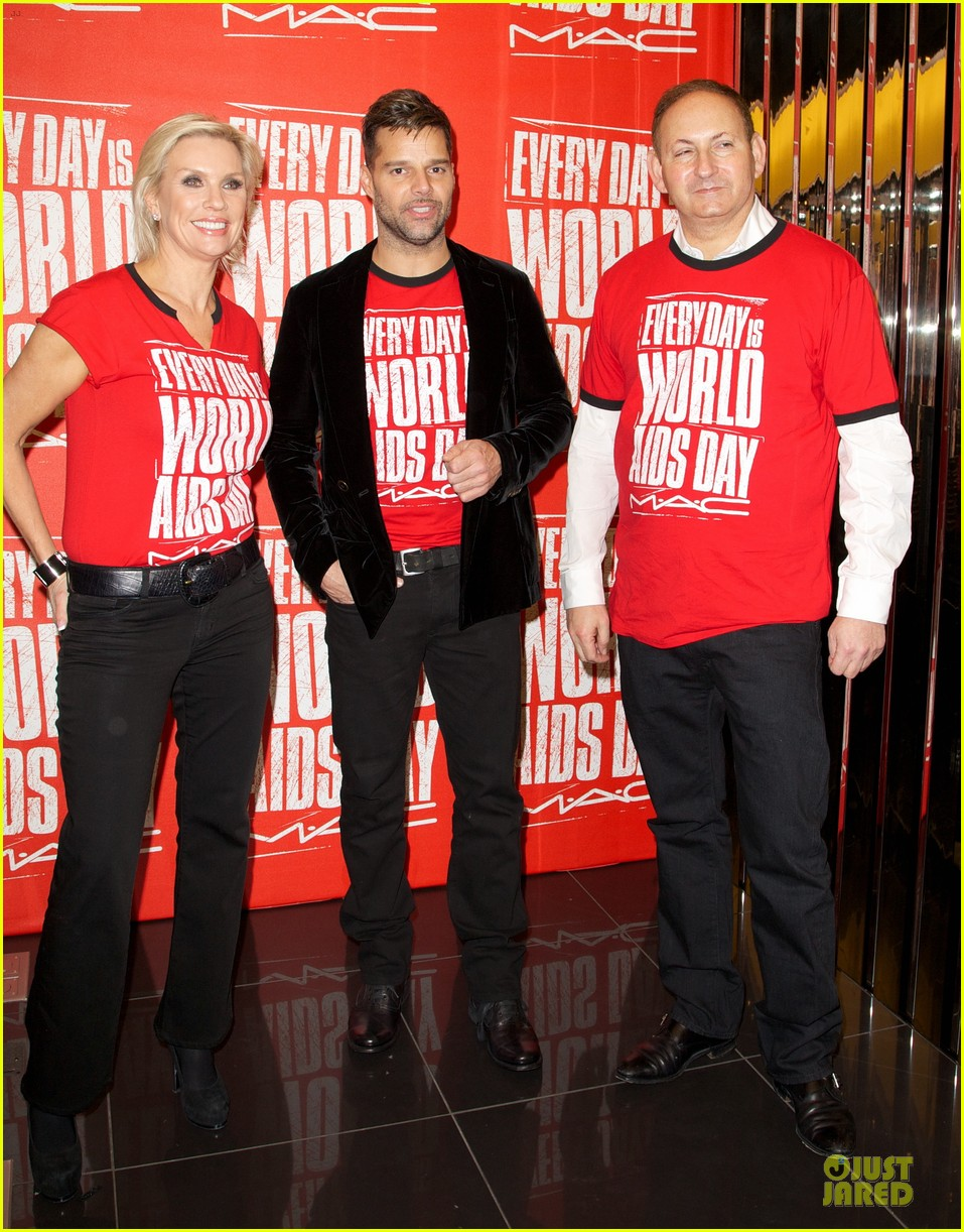 ricky martin world aids day event 20