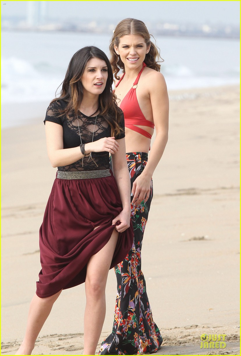 annalynne mccord bikini 90210 filming 092777474