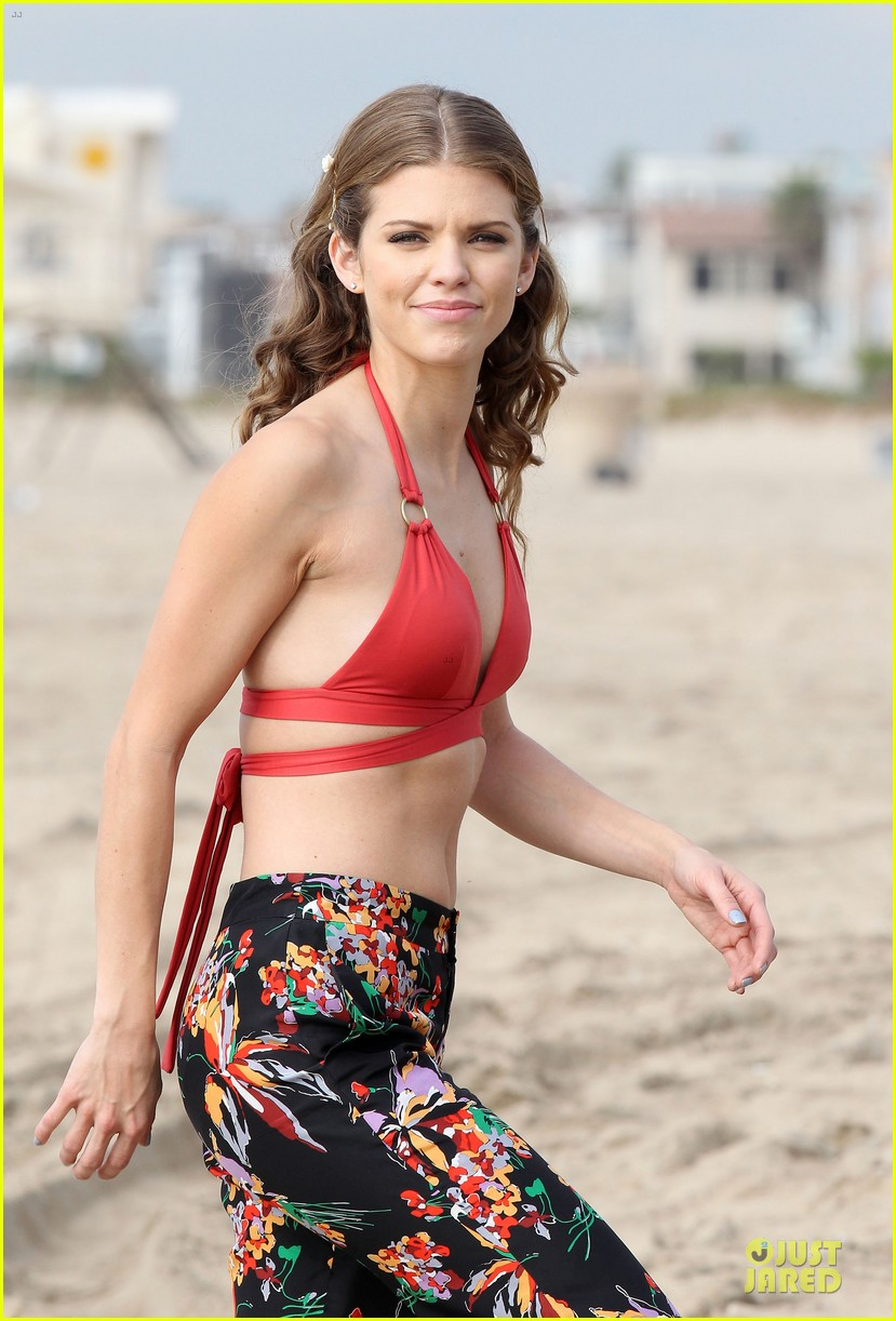 annalynne mccord bikini 90210 filming 102777475