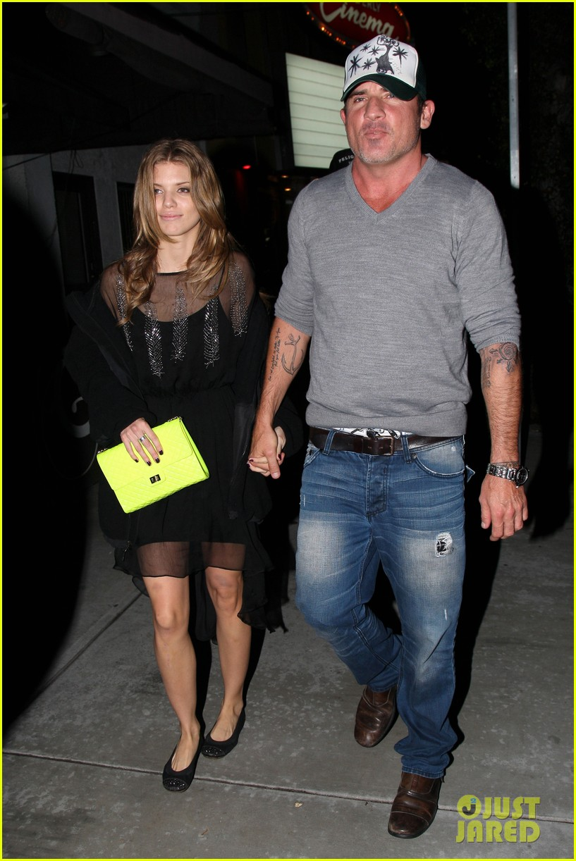 annalynne mccord dominic purcell movie night 032769136