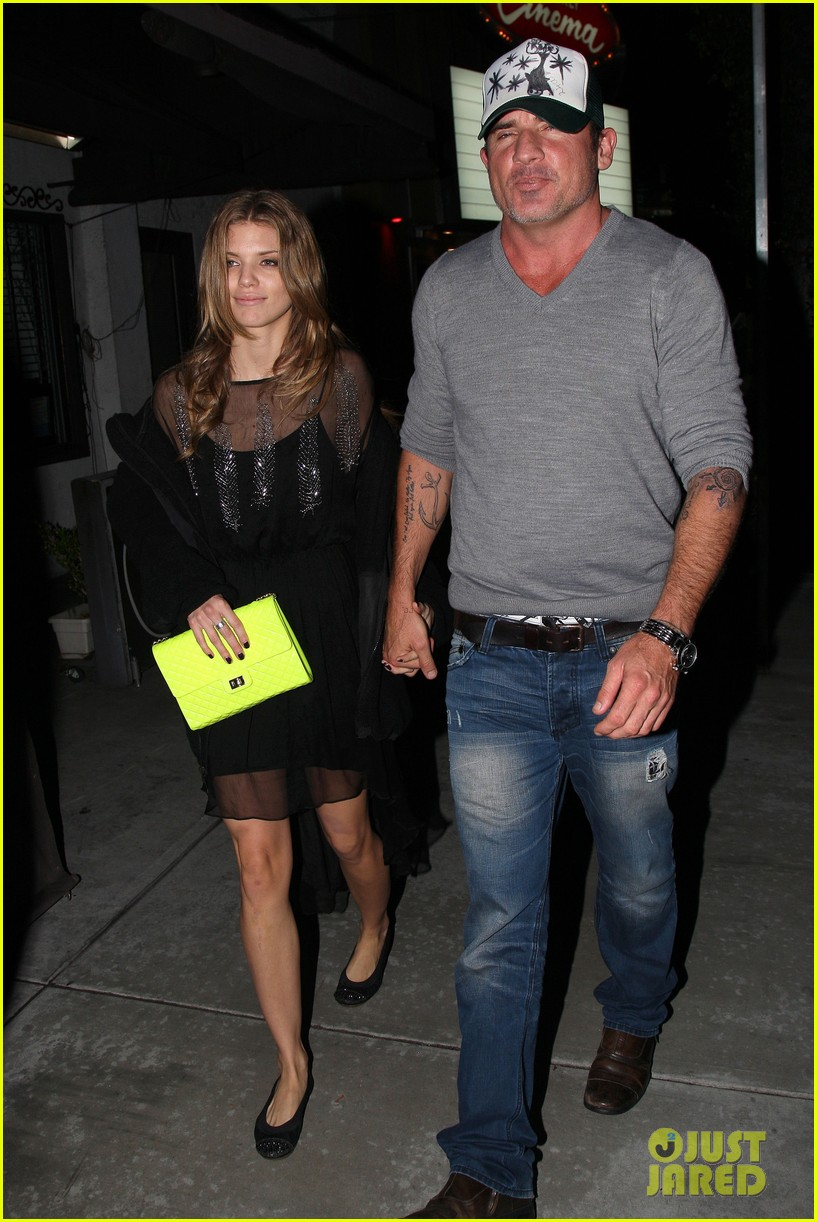 annalynne mccord dominic purcell movie night 092769142