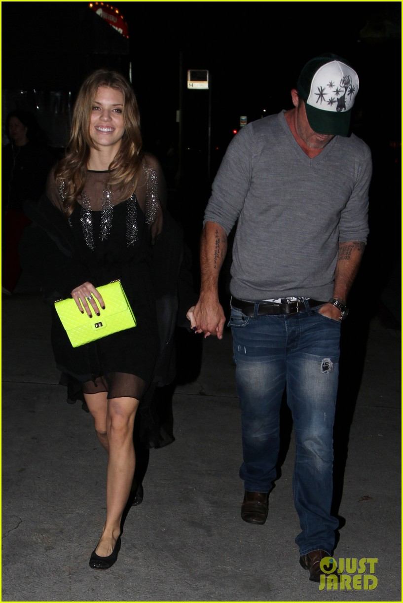 annalynne mccord dominic purcell movie night 122769145