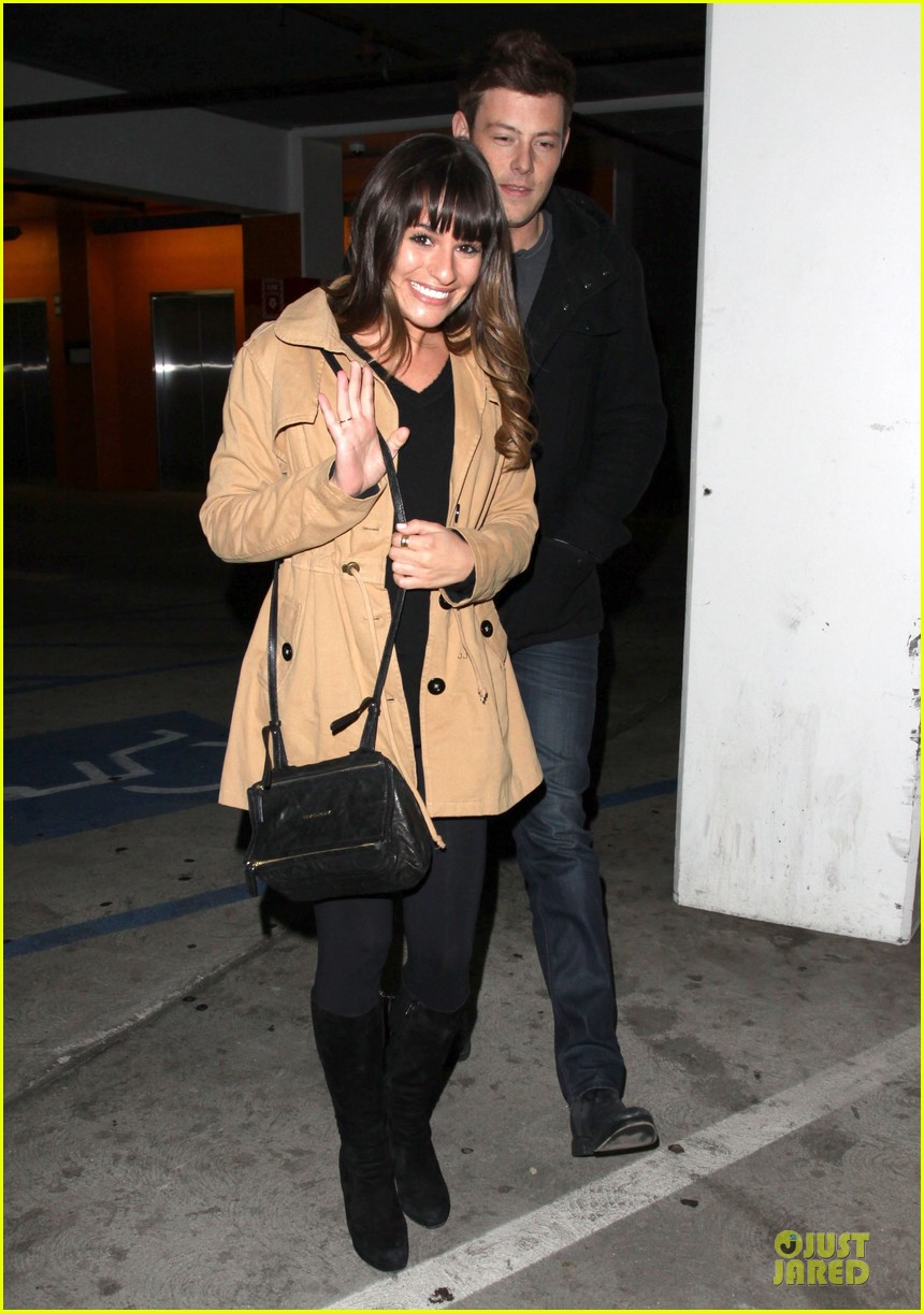 lea michele & cory monteith argo movie date 032778254