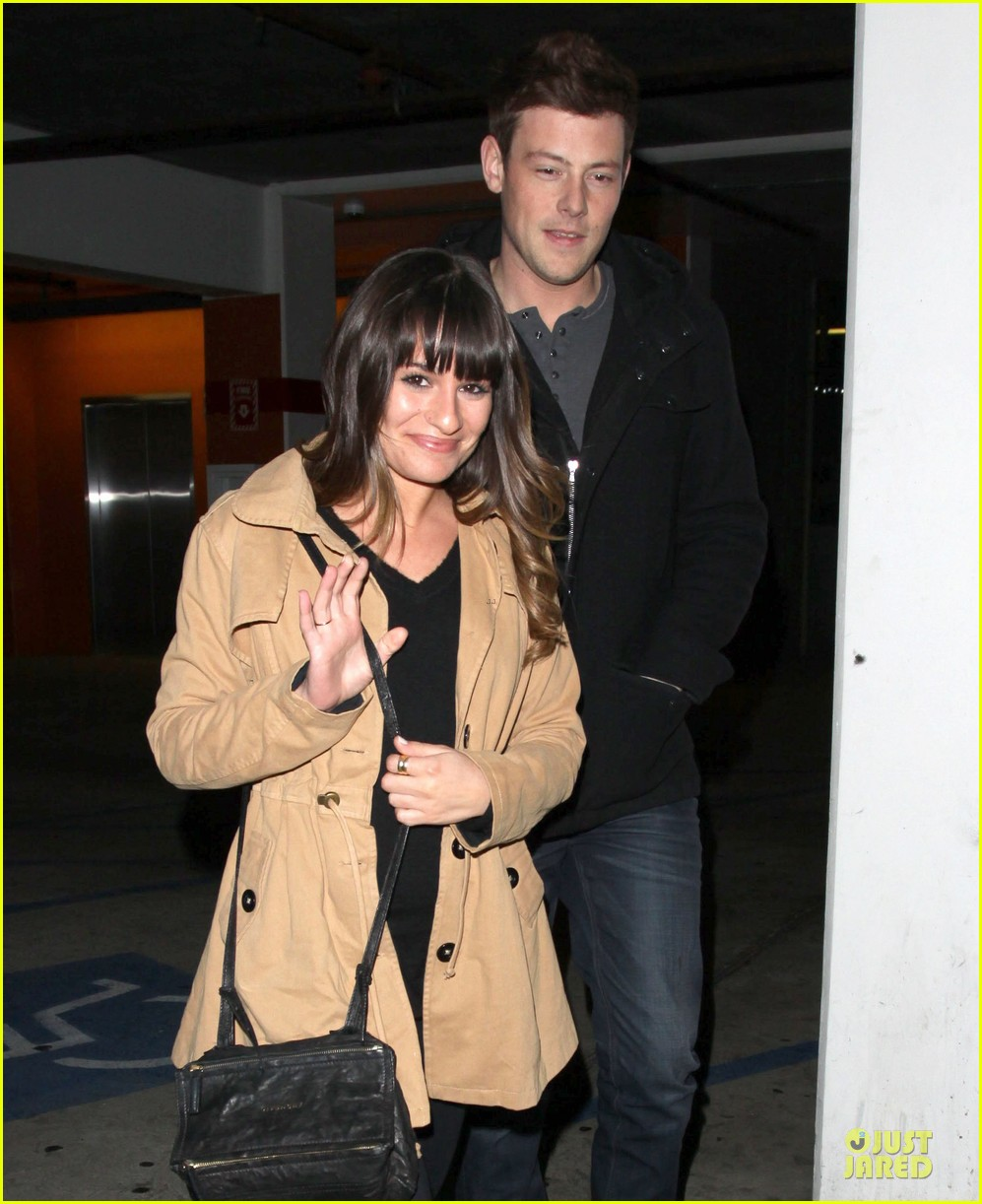 lea michele & cory monteith argo movie date 132778264