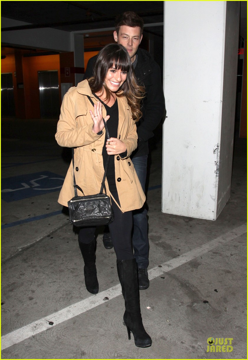 lea michele & cory monteith argo movie date 14
