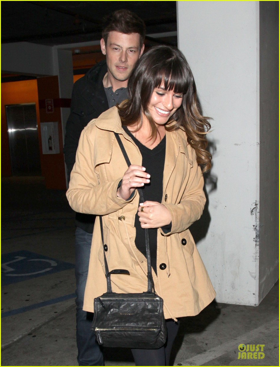 lea michele & cory monteith argo movie date 15