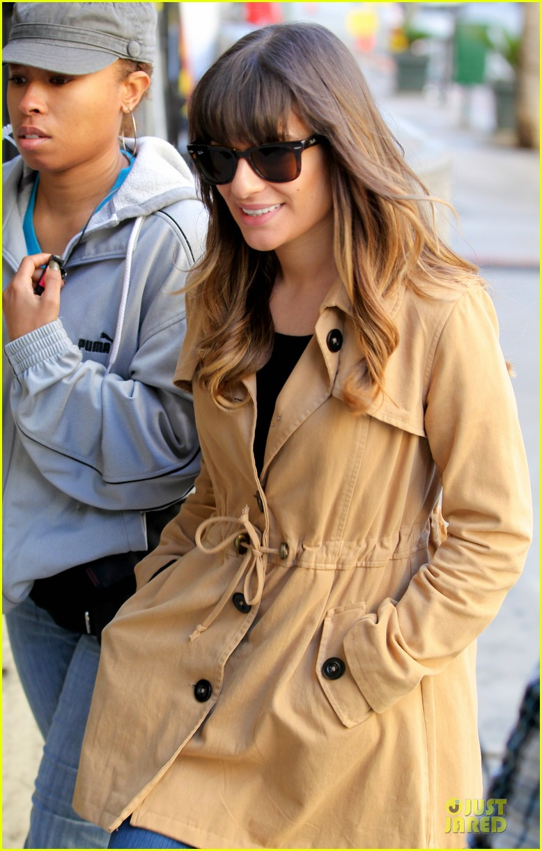 lea michele & cory monteith argo movie date 20