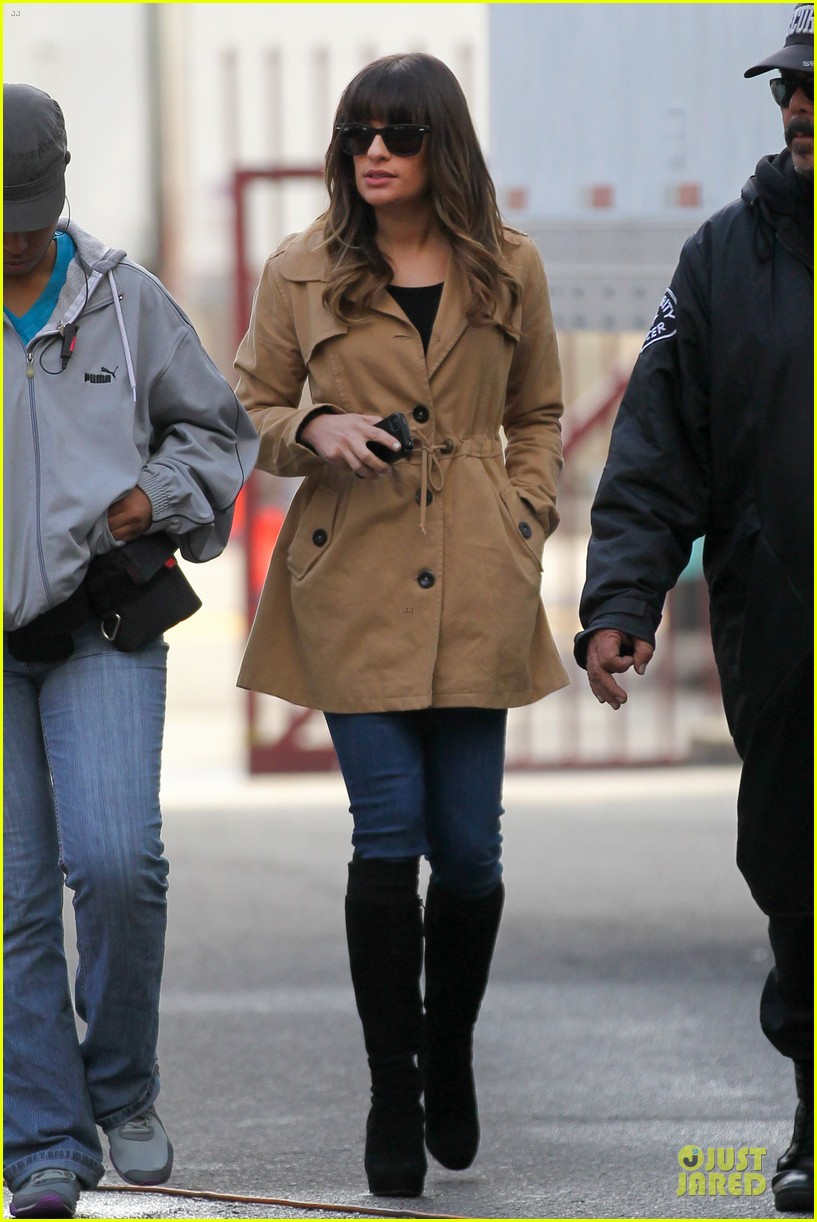 lea michele & cory monteith argo movie date 27