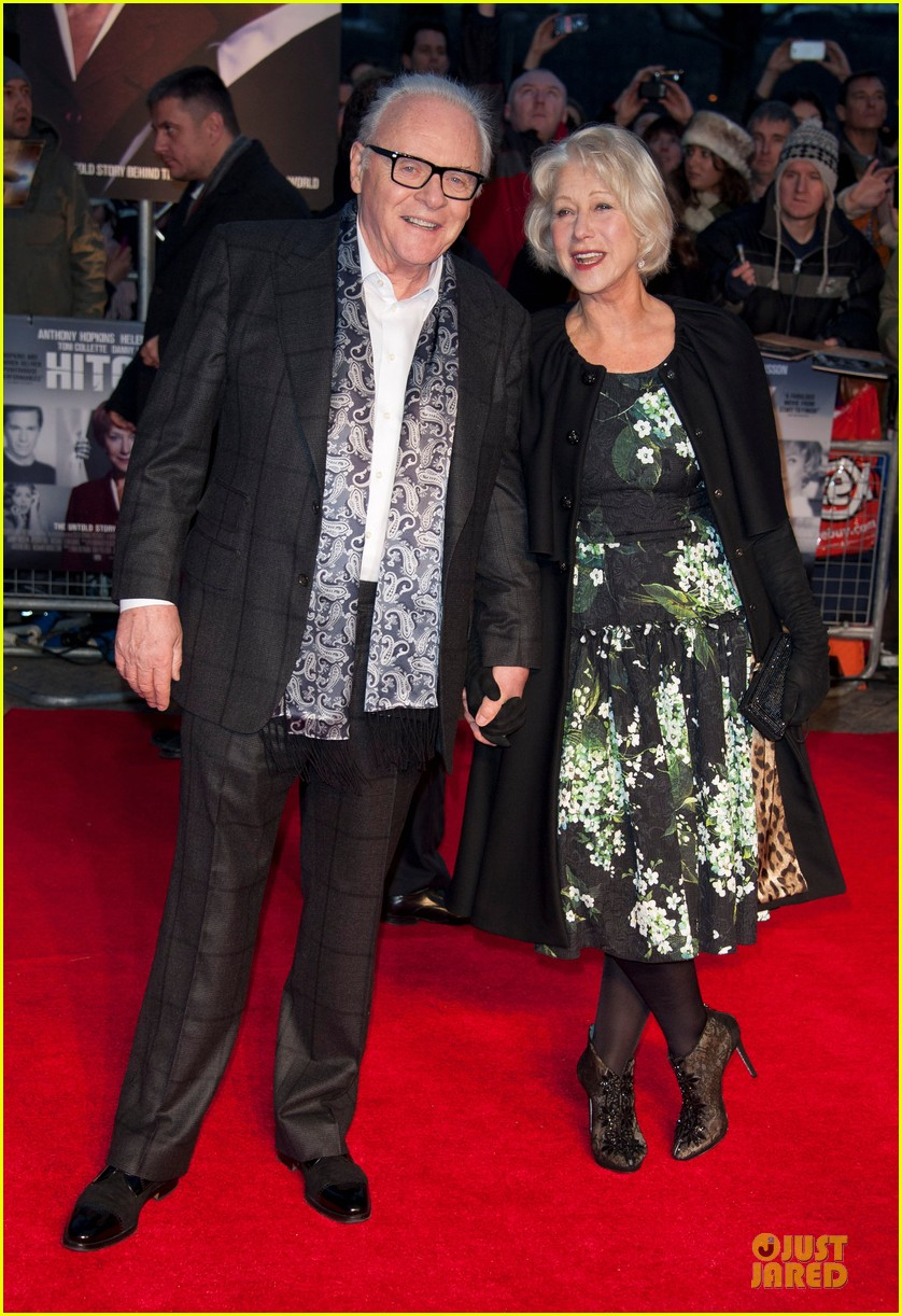 helen mirren & anthony hopkins hitchcock london premiere 092772568