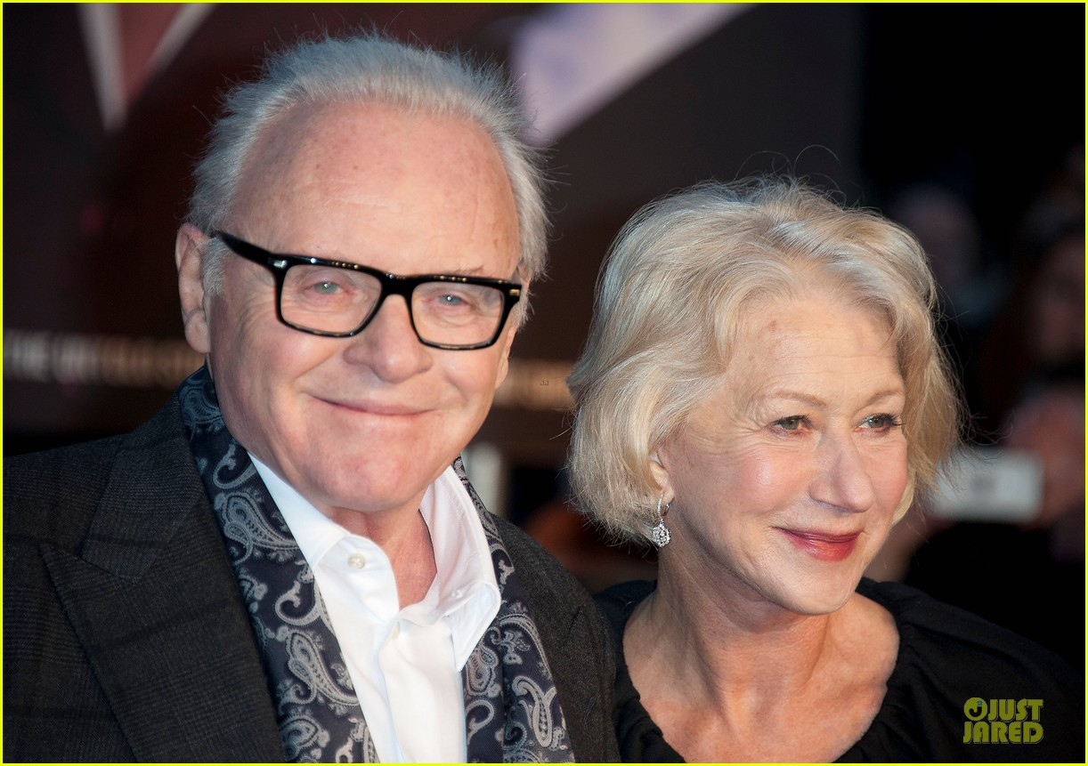 helen mirren & anthony hopkins hitchcock london premiere 102772569