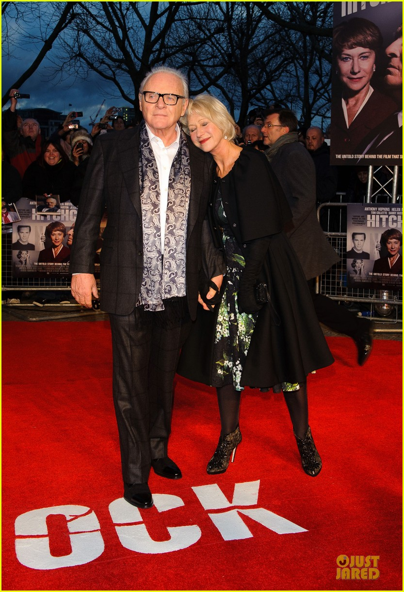 helen mirren & anthony hopkins hitchcock london premiere 142772573