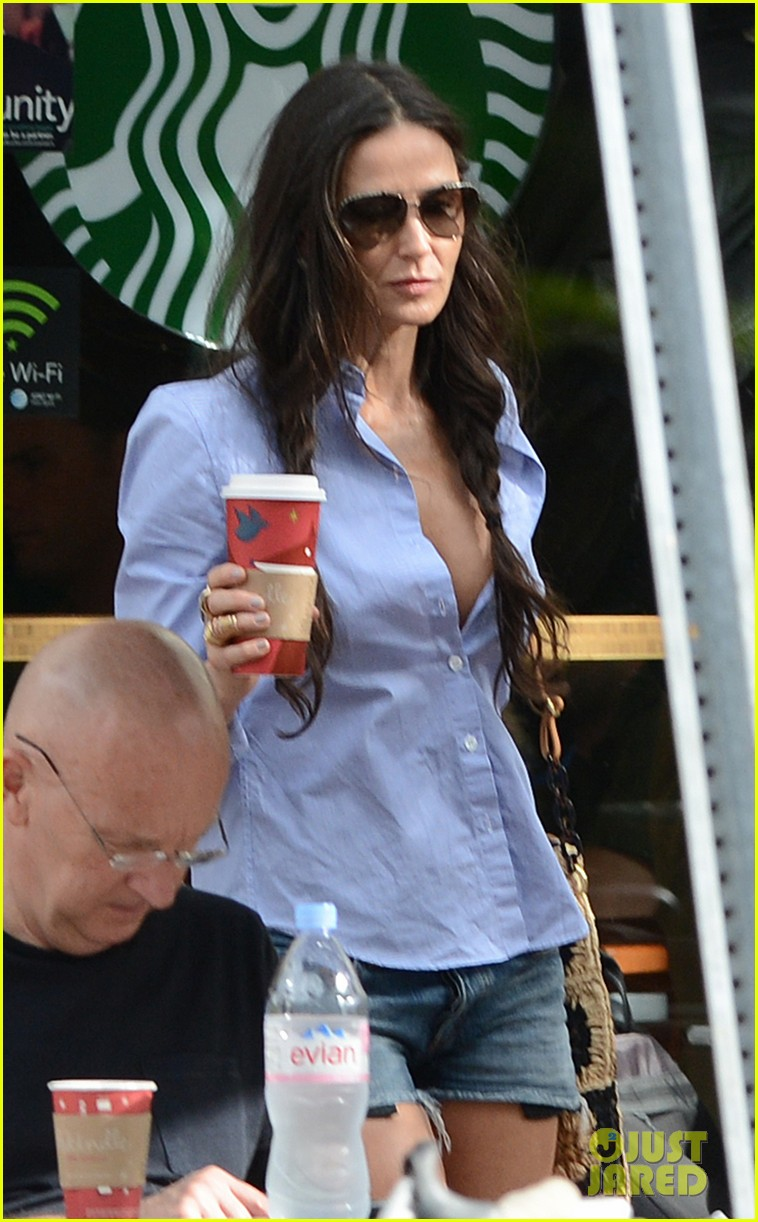 demi moore hits south beach vito schabel goes shirtless 252772742