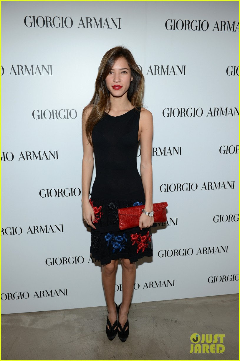 olivia munn giorgio armani beauty luncheon 05