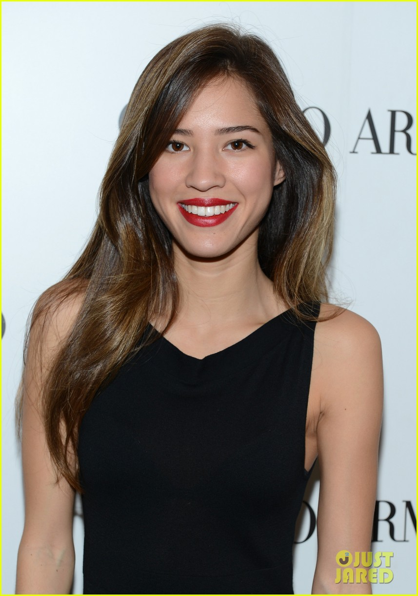 olivia munn giorgio armani beauty luncheon 15