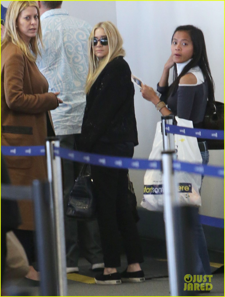 mary kate ashley olsen holidays with the family 14
