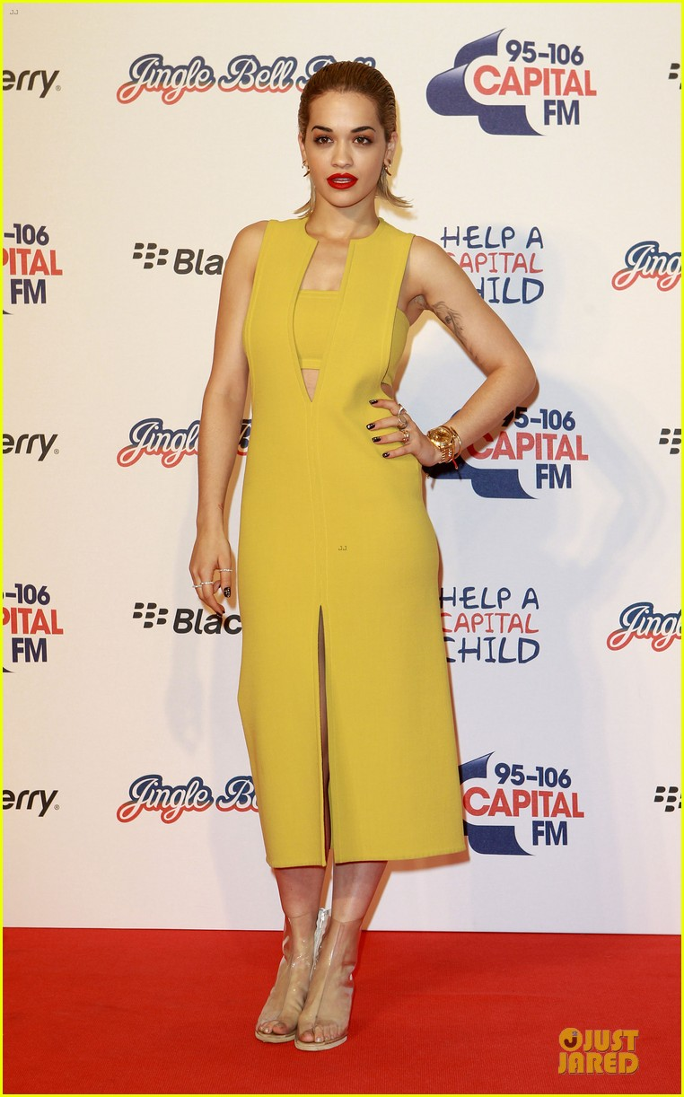rita ora & the wanted jingle bell ball 102772552