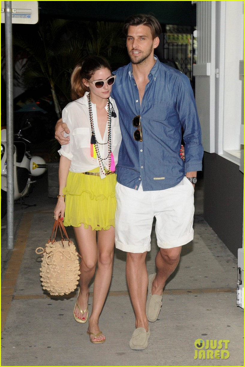 olivia palermo bikini beach with shirtless johannes huebl 082782252