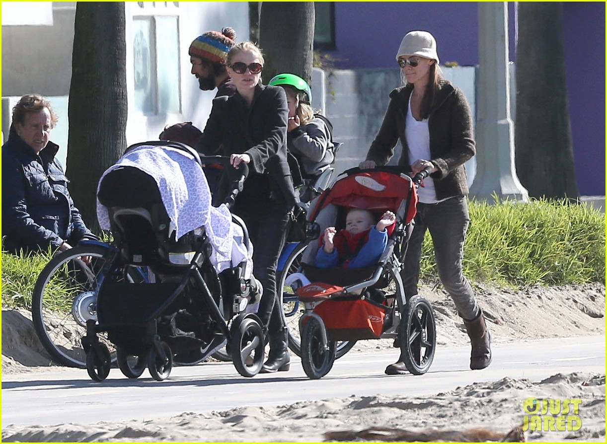anna paquin venice boardwalk stroll with the twins 012779949