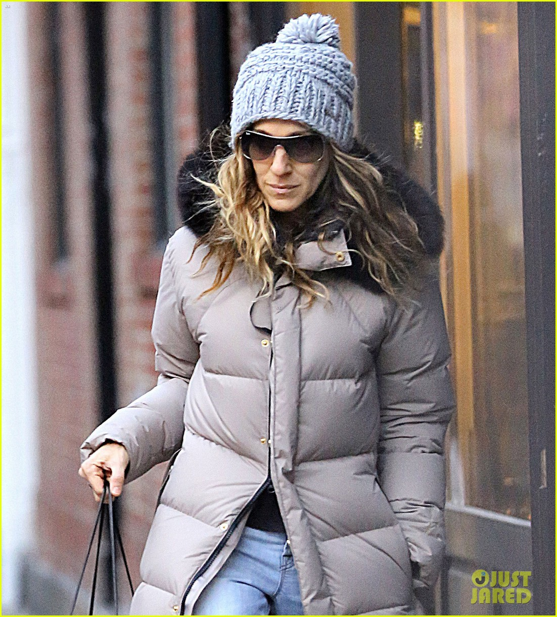 sarah jessica parker post christmas shopping 012782425