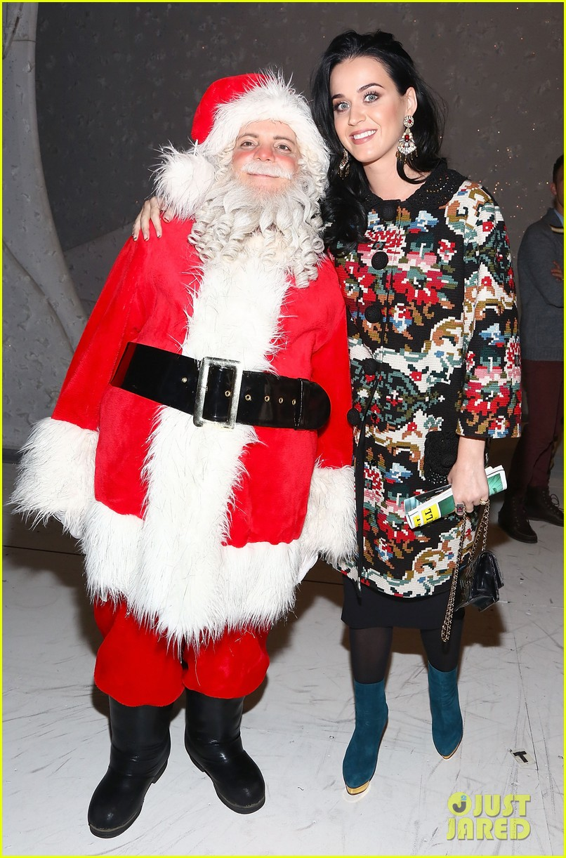 Katy Perry & John Mayer: \'Christmas Story\' Backstage Visit!: Photo ...