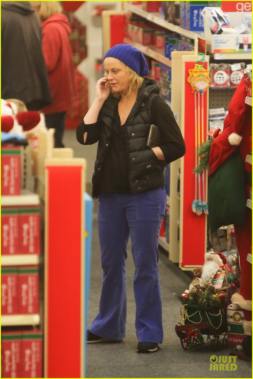 amy poehler holiday shopping with archie 112767150