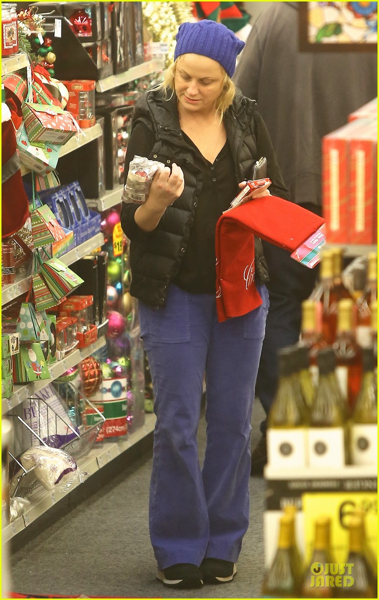 amy poehler holiday shopping with archie 252767164