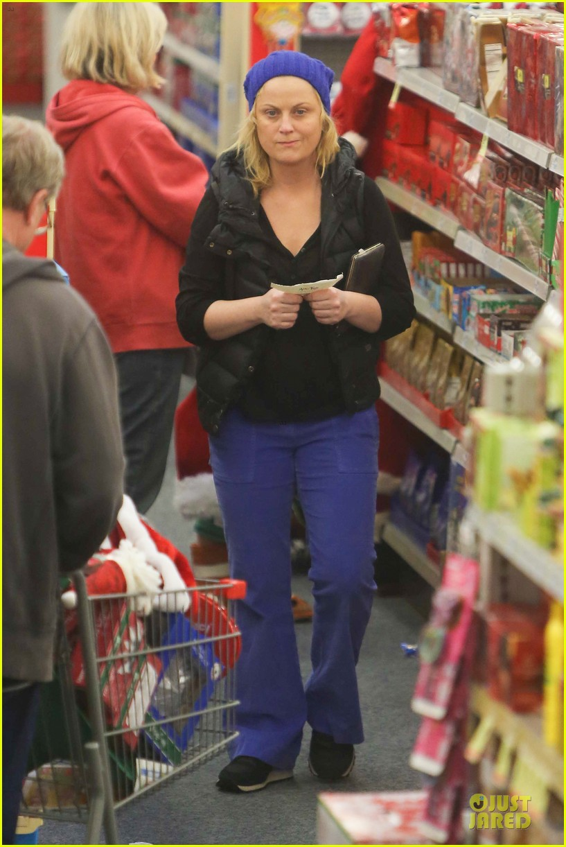 amy poehler holiday shopping with archie 292767168
