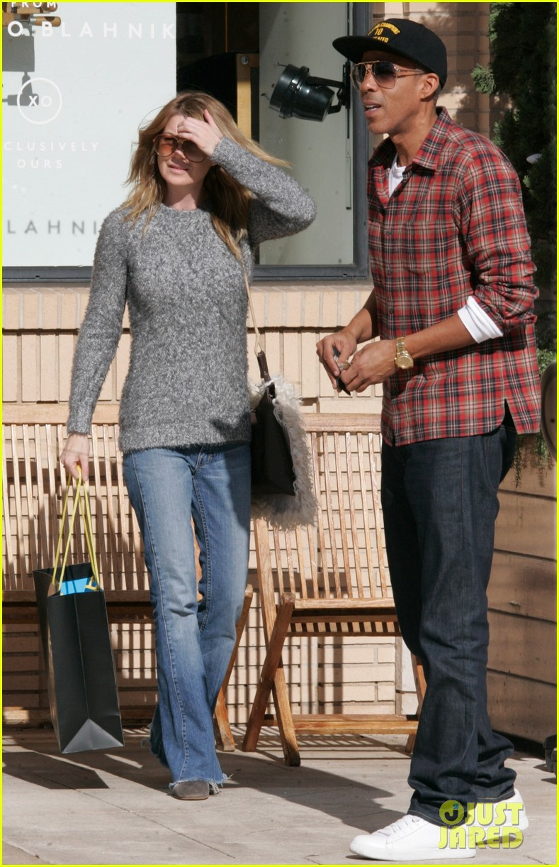 ellen pompeo chris ivery post christmas shopping 052781247