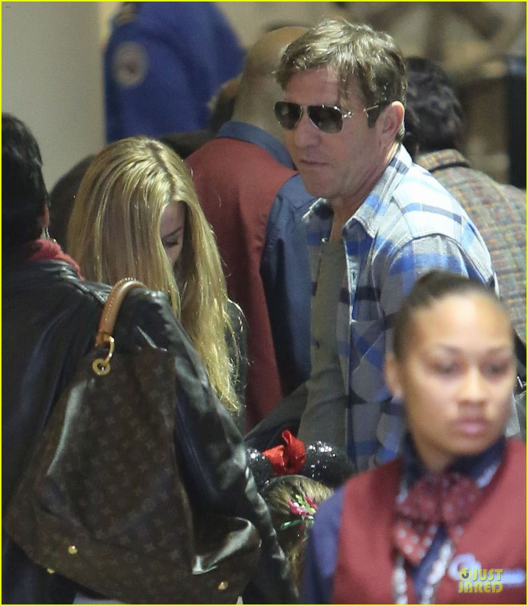 dennis quaid lax departure with a mystery woman 062781971