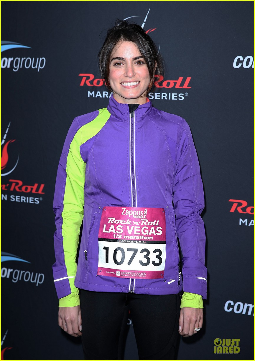 nikki reed & paul mcdonald rock n roll marathon & half marathon 142768387