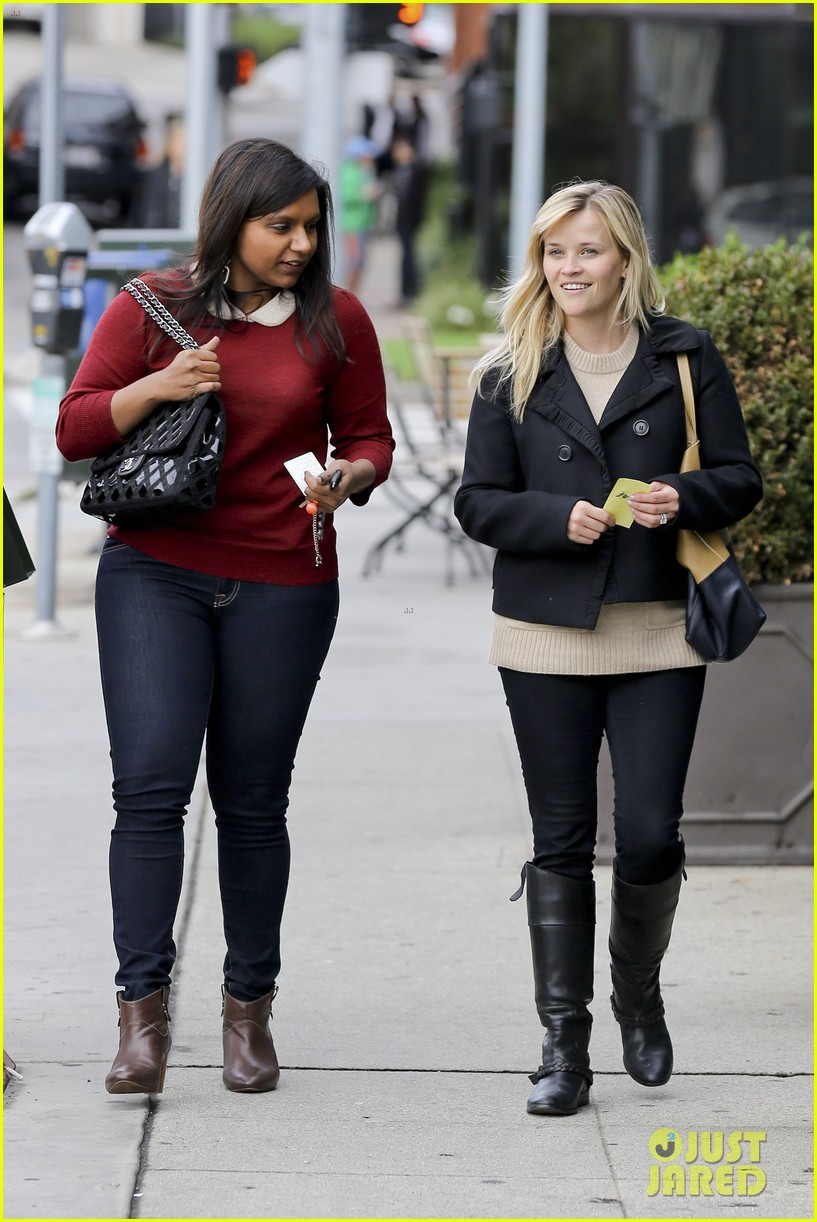 mindy kaling reese witherspoon lunch 072767423