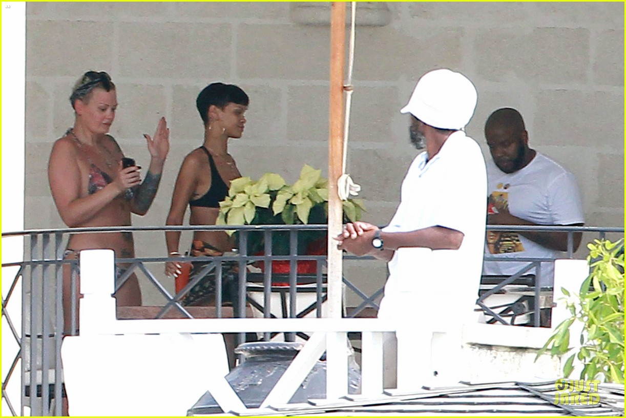 rihanna unknown man trespassed on barbados property 082780184