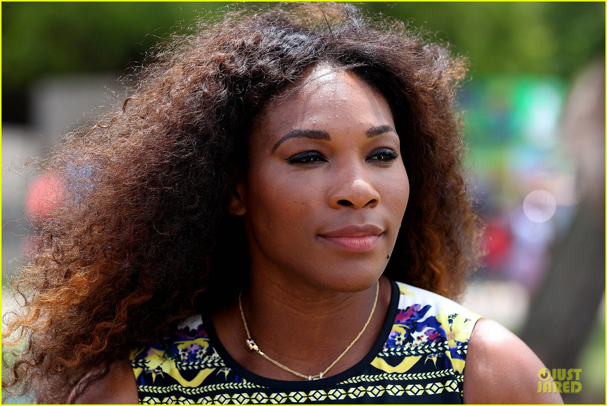 serena williams brisbane international arrival 132782846