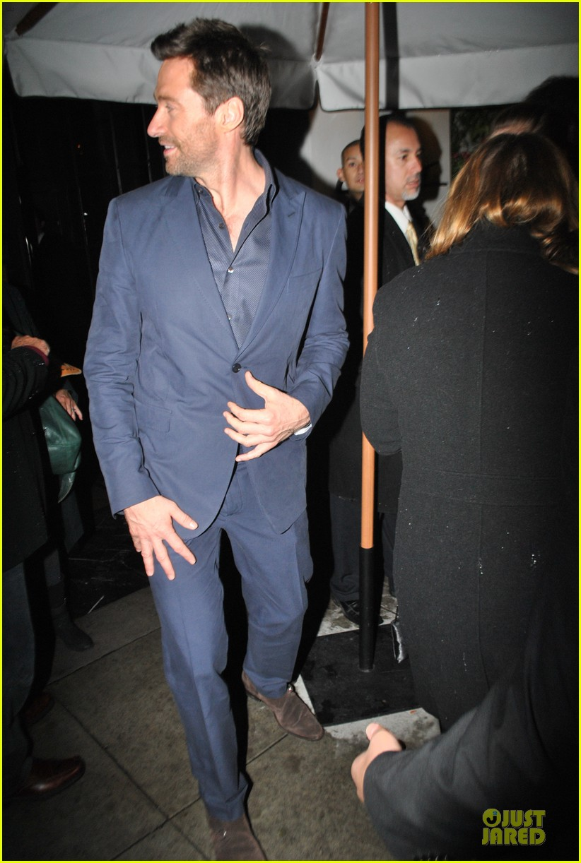 amanda seyfried & hugh jackman pre golden globes nominee party 092776383