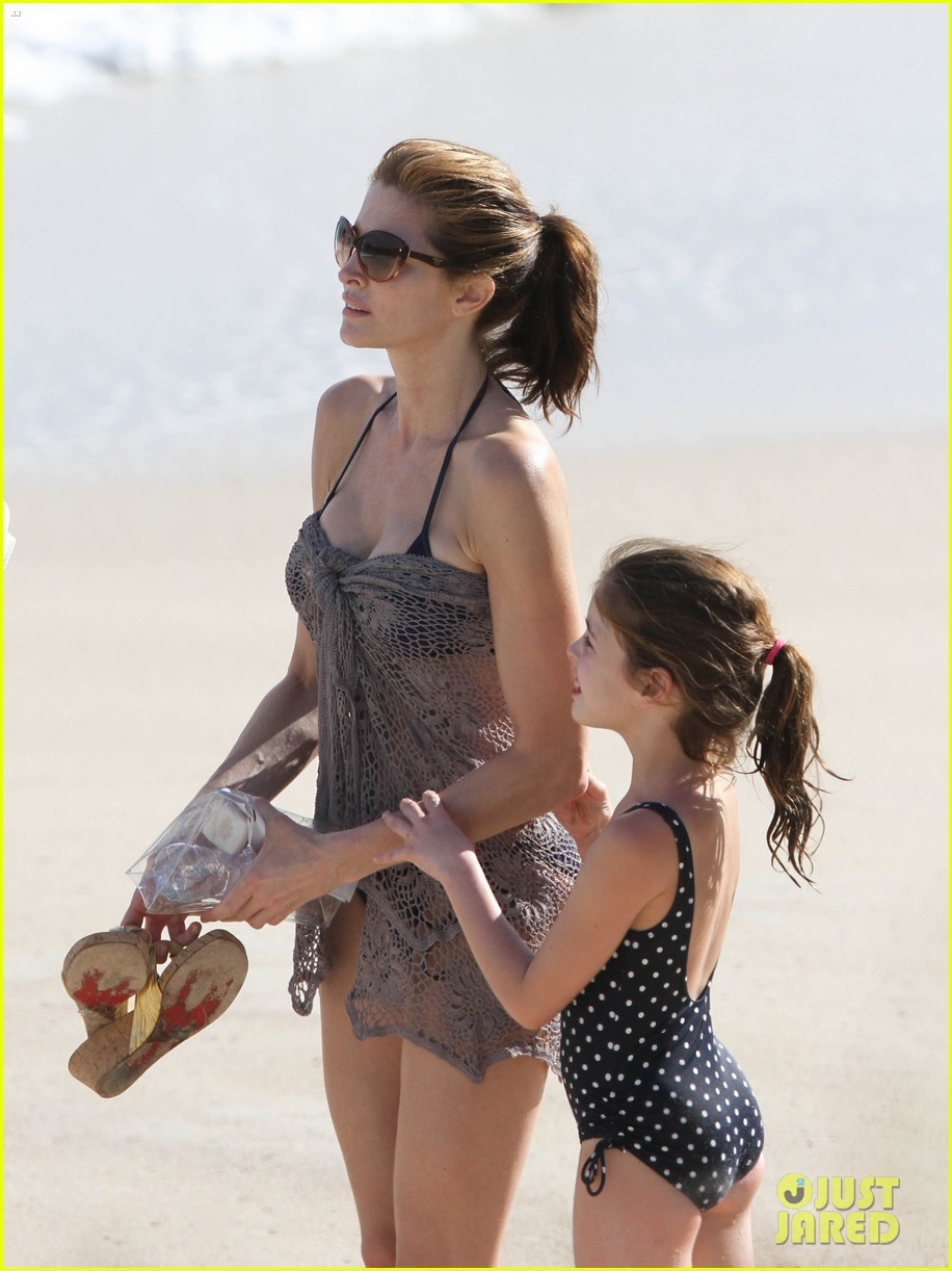 stephanie seymour st barts family vacation 012780450