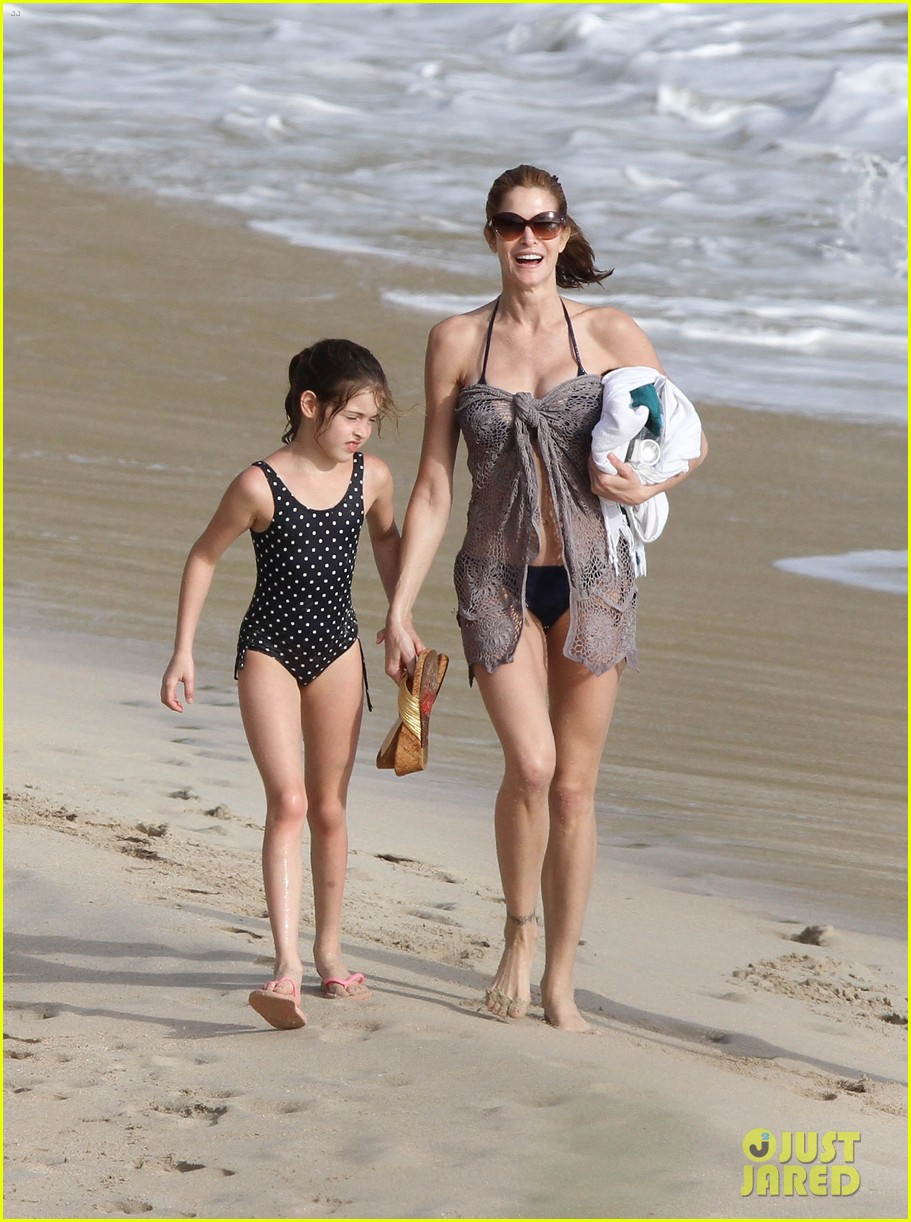 stephanie seymour st barts family vacation 052780454