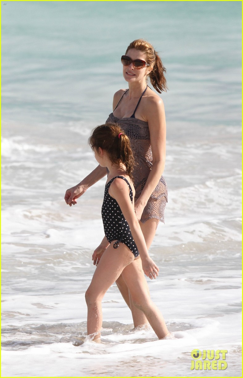 stephanie seymour st barts family vacation 122780461