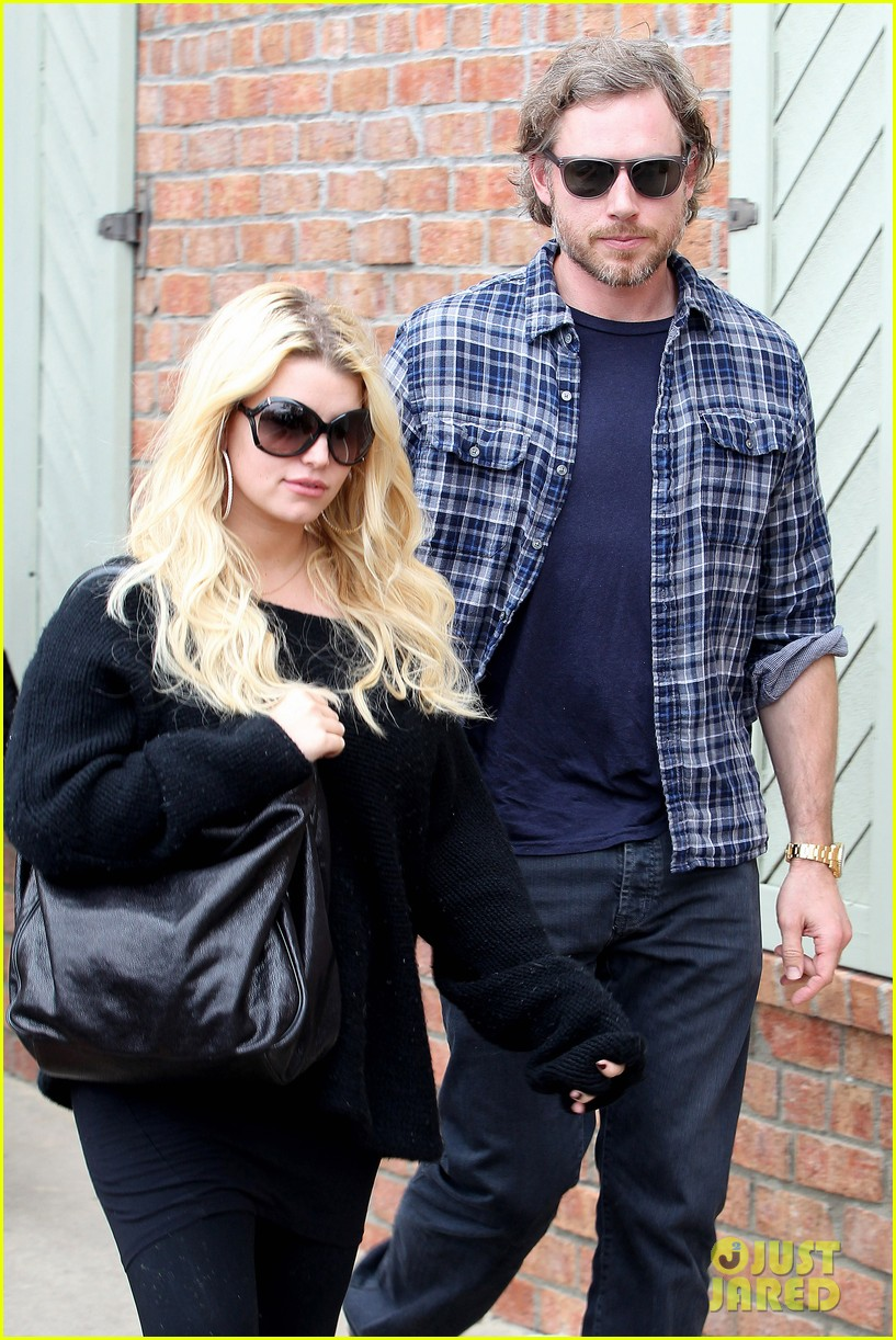 jessica simpson eric johnson kings fish house lunch 042774637