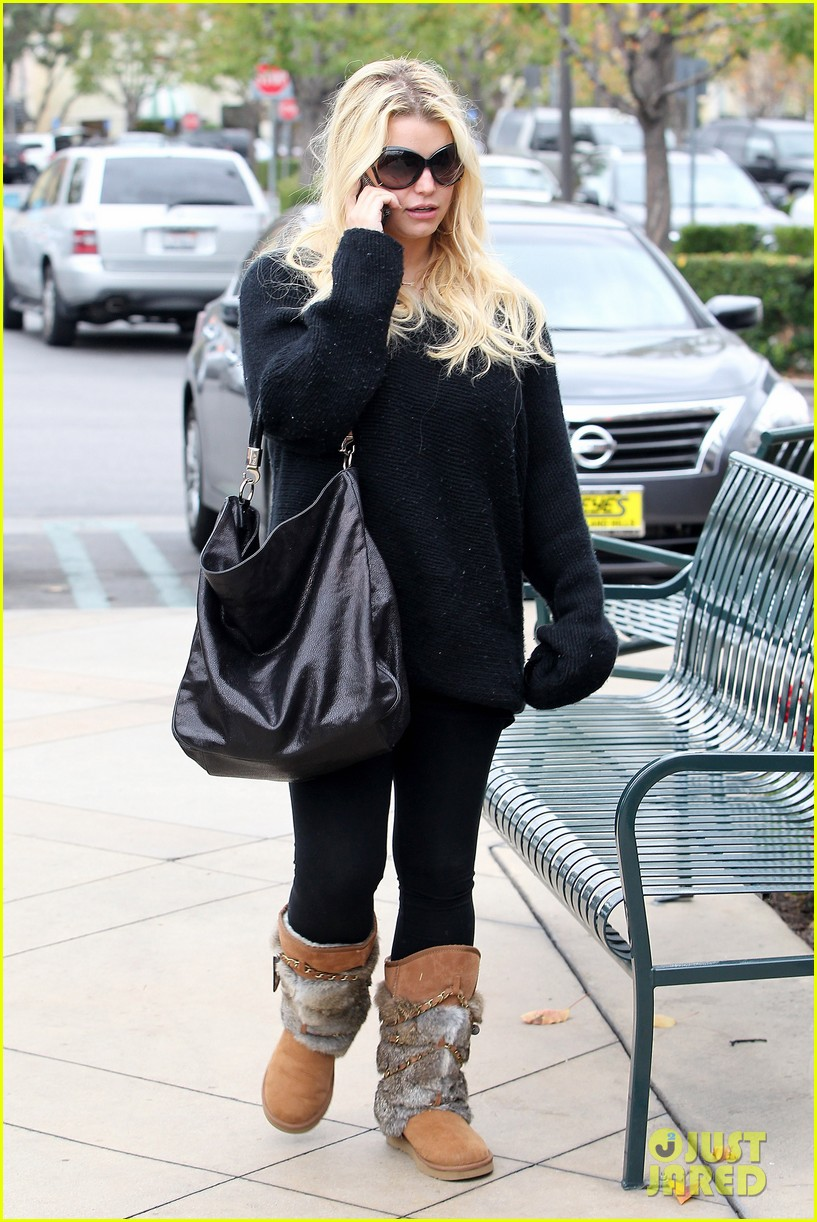 jessica simpson eric johnson kings fish house lunch 082774641