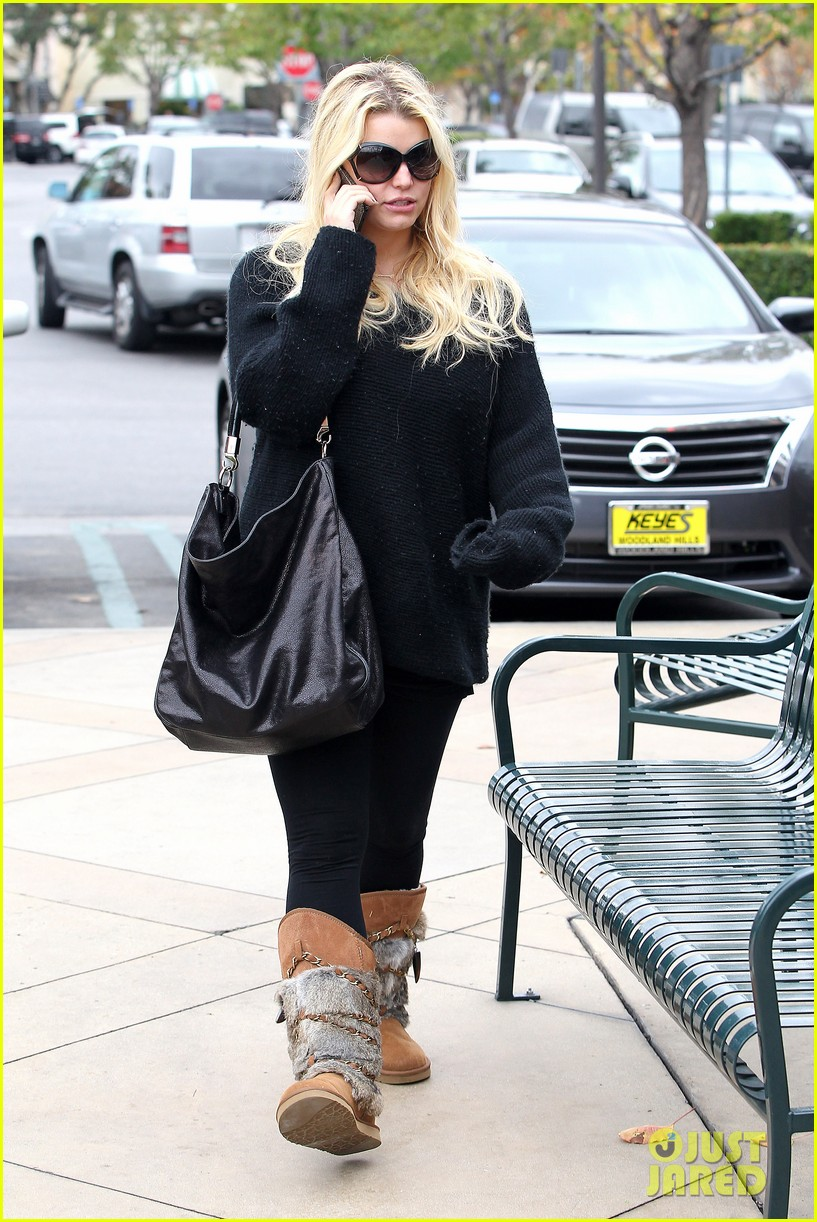 jessica simpson eric johnson kings fish house lunch 112774644
