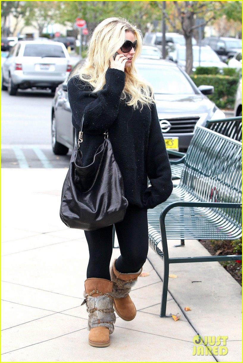 jessica simpson eric johnson kings fish house lunch 122774645
