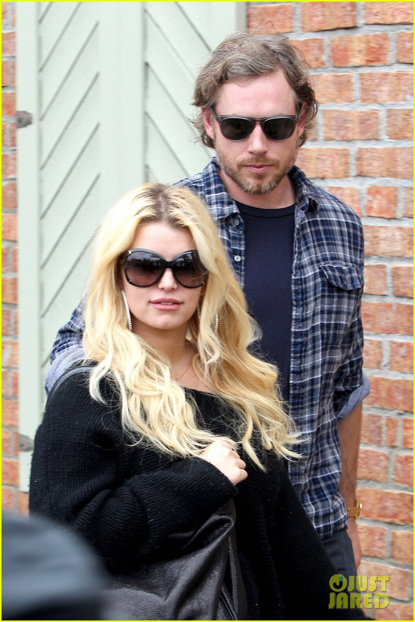 jessica simpson eric johnson kings fish house lunch 162774649