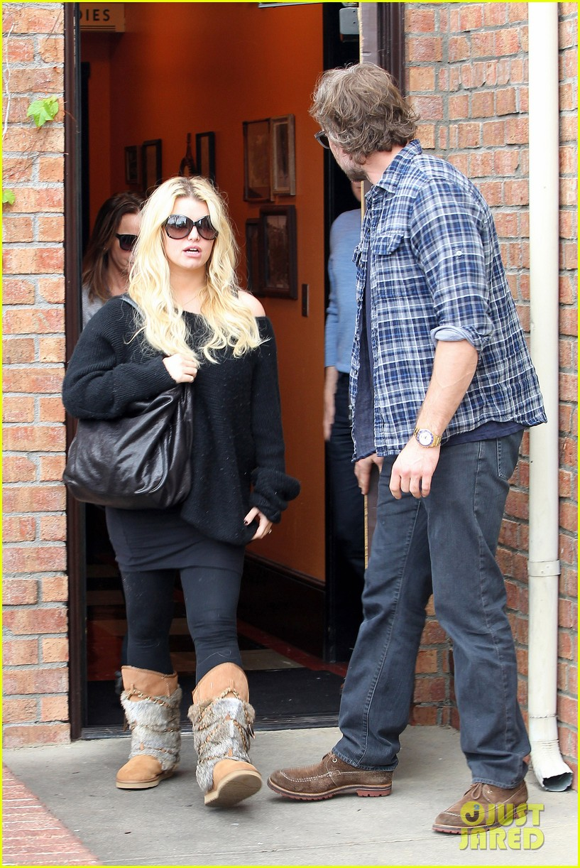 jessica simpson eric johnson kings fish house lunch 172774650