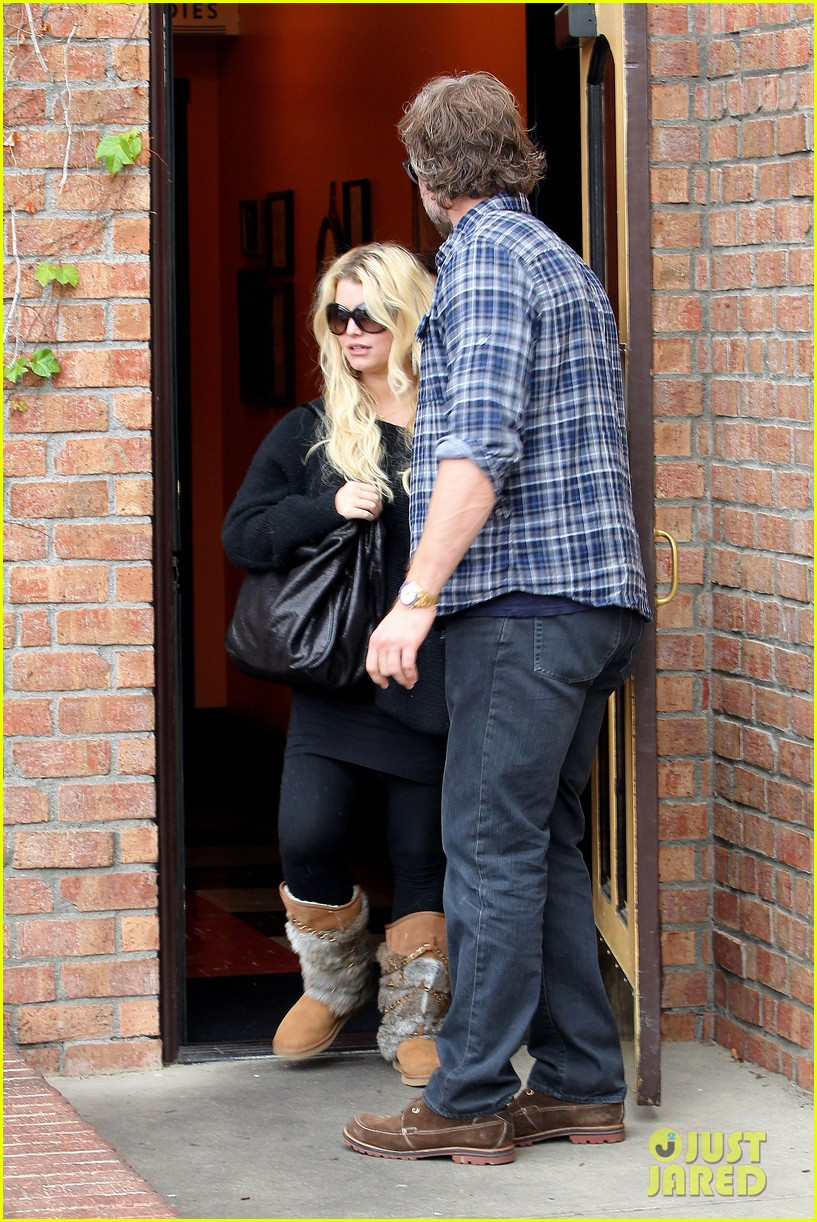 jessica simpson eric johnson kings fish house lunch 182774651