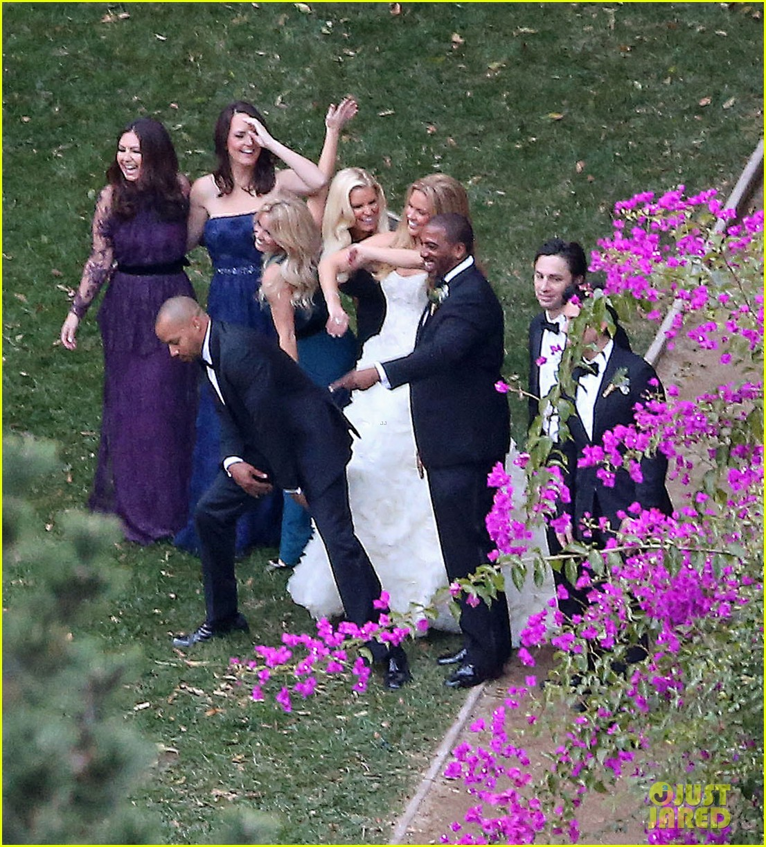 jessica simpson bridesmaid at cacee cobb wedding 102776614