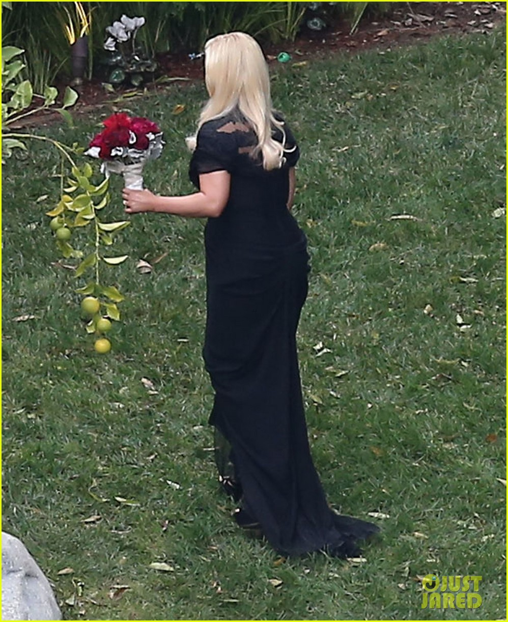 jessica simpson bridesmaid at cacee cobb wedding 14