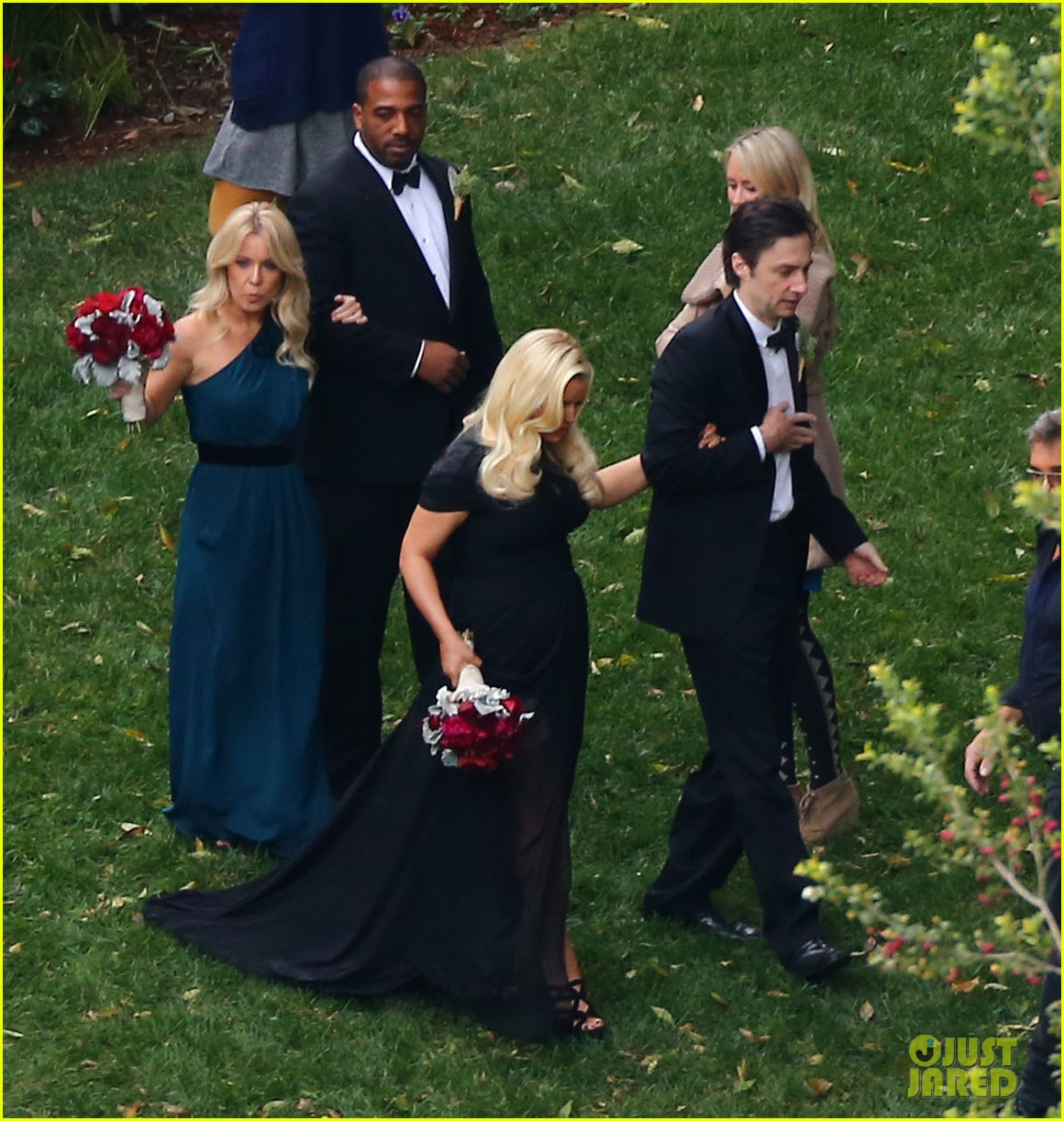 jessica simpson bridesmaid at cacee cobb wedding 21
