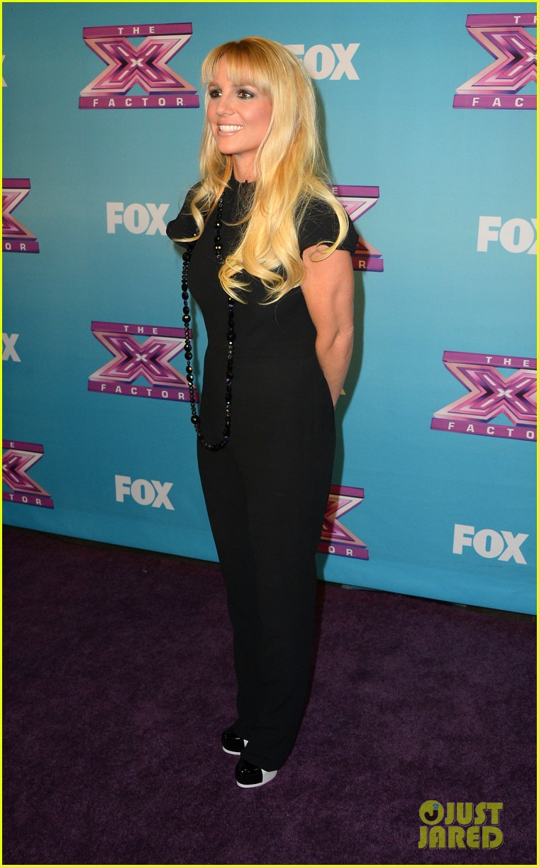 britney spears carly rose sonenclar x factor finale party 062778610