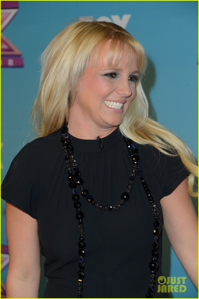 britney spears carly rose sonenclar x factor finale party 072778611